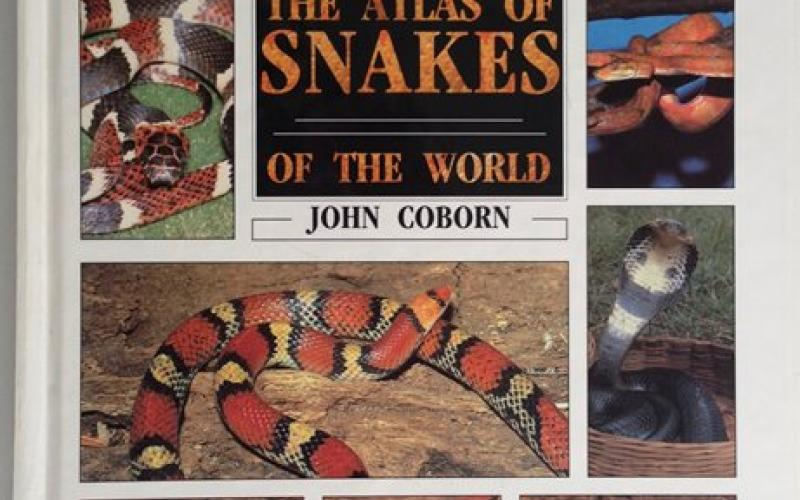 Front Cover of The Atlas of Snakes of the World by John Coborn