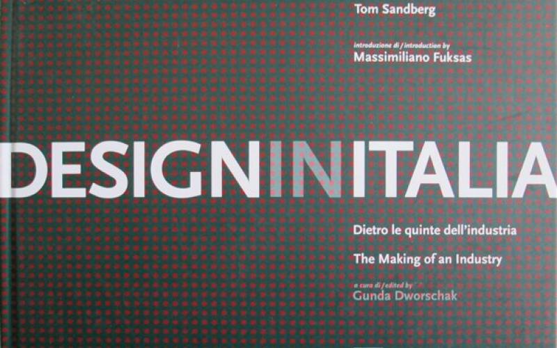 Front cover of Design in Italia by Stefano Casciani