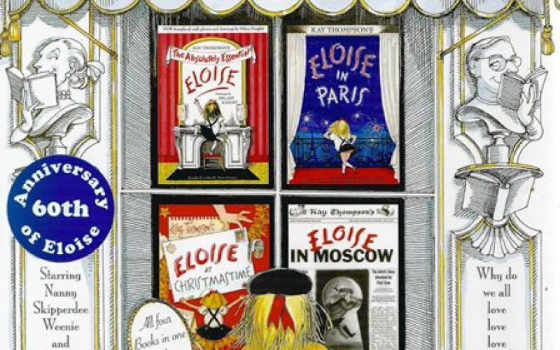 Front cover of Eloise by Kay Thompson and Hilary Knight