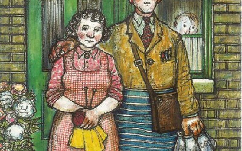 Front cover of Ethel and Ernest by Raymond Briggs