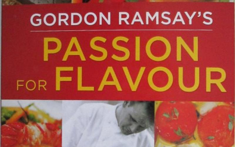 Front cover of Gordon Ramsay's Passion for Flavour - Gordon Ramsay