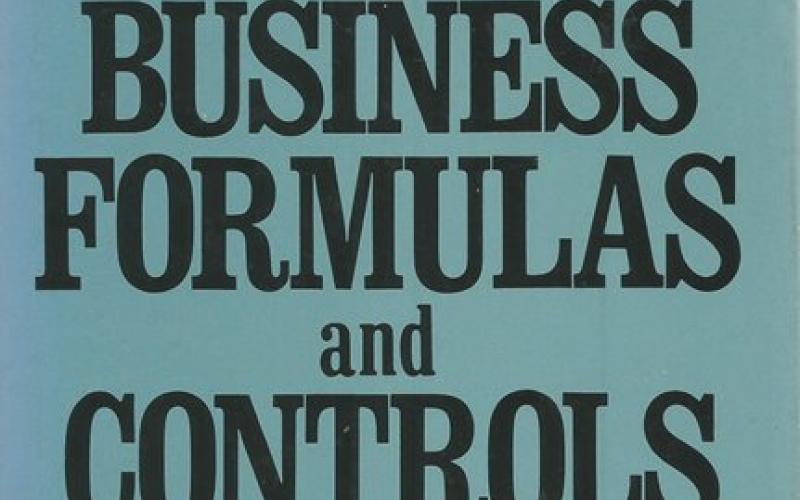 Front Cover of Handbook of Business Formulas and Controls by Spencer A Tucker