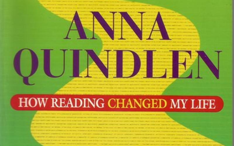 Front cover of How Reading Changed My Life by Anna Quindlen