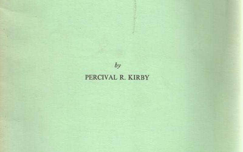 Front cover of The Indonesian Origin of Certain African Musical Instruments by Percival R Kirby