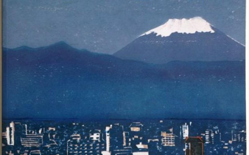 Front Cover of 100 Views of Mount Fuji by Timothy Clark