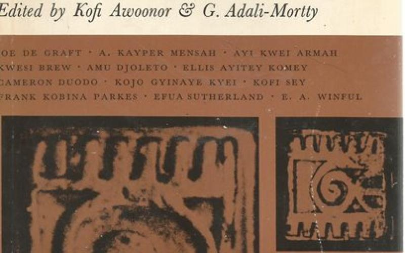 Front Cover of Messages: Poems from Ghana edited by Kofi Awoonor and G Adali-Mortty