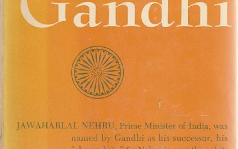 Front cover of Nehru on Gandhi by The John Day Company