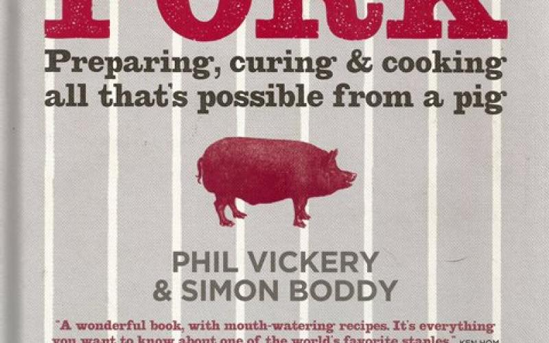 Front cover of Pork by Phil Vickery and Simon Boddy