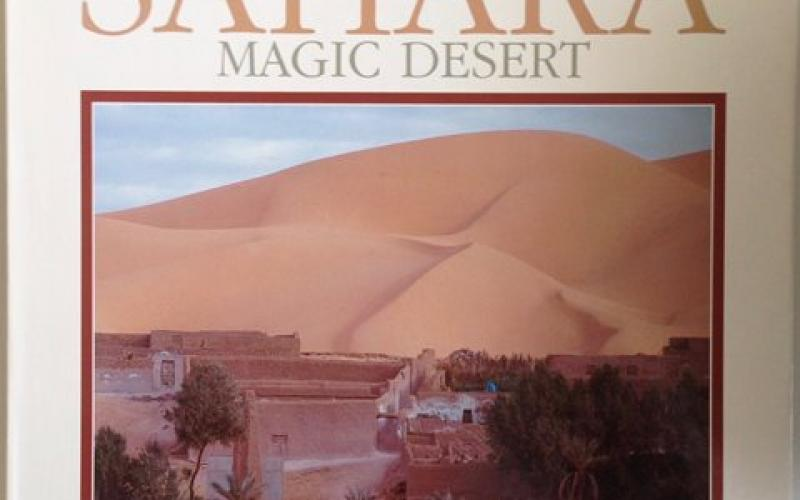 Front Cover of Sahara by Theodore Monod and Jean-Marc Durou