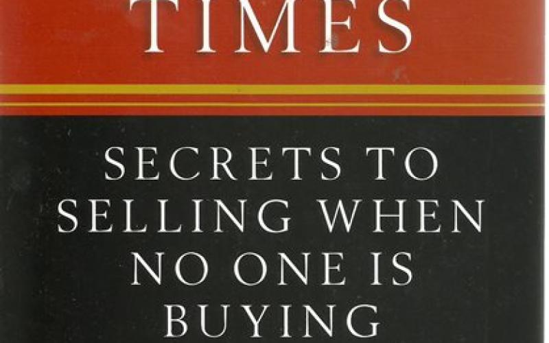 Front cover of Selling in Tough Times by Tom Hopkins