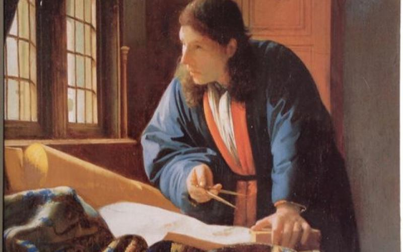 Front Cover of Johannes Vermeer by Ben Broos and Arthur K Wheelock jr