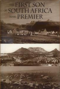 Front cover of The First Son of South Africa to be Premier by Basil T. Hone