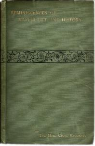 Front Cover of Reminiscences of Kaffir Life and History and Other Papers by Charles Brownlee