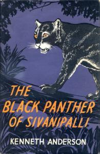 Front Cover of The Black Panther of Sivanipalli by Kenneth Anderson