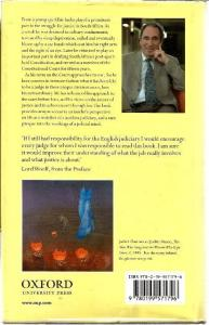 Back Cover of The Strange Alchemy of Life and Law by Albie Sachs