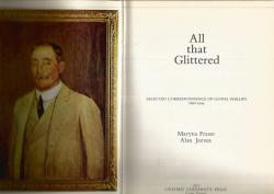 Title page of All That Glittered by Maryna Fraser and Alan Jeeves