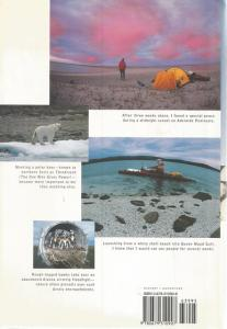 Back Cover of Arctic Crossing by Jonathan Waterman