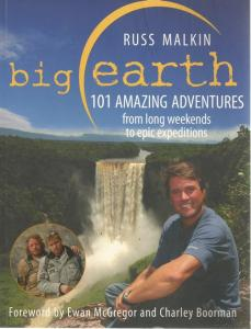 Front cover of Big Earth by Russ Malkin
