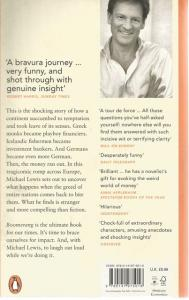 Back Cover of Boomerang by Michael Lewis