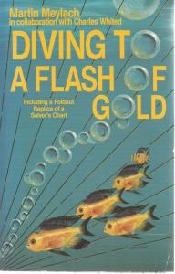 Front Cover of Diving to a Flash of Gold by Martin Meylach
