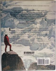 Back Cover of Everest by Broughton Coburn