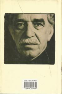 Back cover of The General in His Labyrinth by Gabriel Garcia Marquez