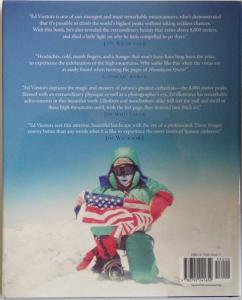 Back Cover of Himalayan Quest by Ed Viesturs