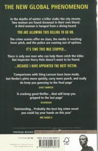Back cover of The Leopard by Jo Nesbo