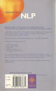 Back cover of Leading With NLP by Joseph O'Connor