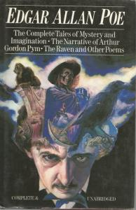 Front cover of Treasury of World Masterpieces: Edgar Allan Poe