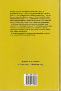 Back Cover of To Horse and Away by Jose Burman