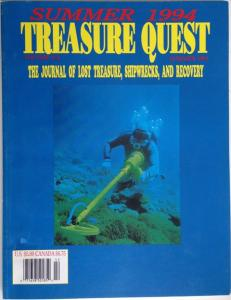 Front Cover of Treasure Quest edited by Debbie Schroeder