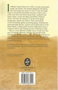 Back Cover of Zululand Wilderness by Ian Player