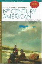 Front cover of 19th Century American Writers on Writing edited by Brenda Wineapple