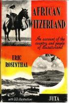Front Cover of African Switzerland by Eric Rosenthal