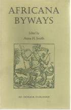 Front Cover of Africana Byways edited by Anna H Smith