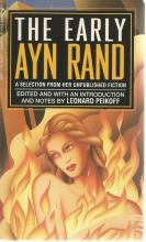 Front Cover of The Early Ayn Rand by Ayn Rand edited by Leonard Peikoff