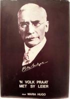 Front cover of J.B.M. Hertzog: 'n Volk Praat Met Sy Leier by Maria Hugo