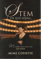 Front cover of 'n Stem vir Suid Afrika deur Mimi Coertse
